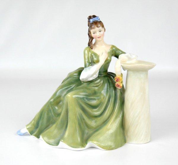 "16: Royal Doulton figurine ""Secret Thoughts"" HN 2382, 6"