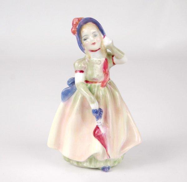 "22: Royal Doulton figurine ""Babie"" HN 1679, 5"" high."