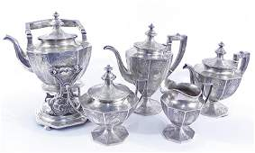 Gorham sterling silver tea and coffee service