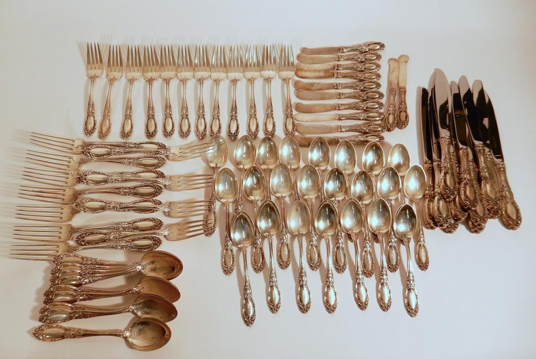 Towle King Richard sterling silver flatware set