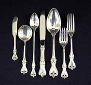 """94: Towle sterling silver flatware set """"Old Colonial"""" -"""