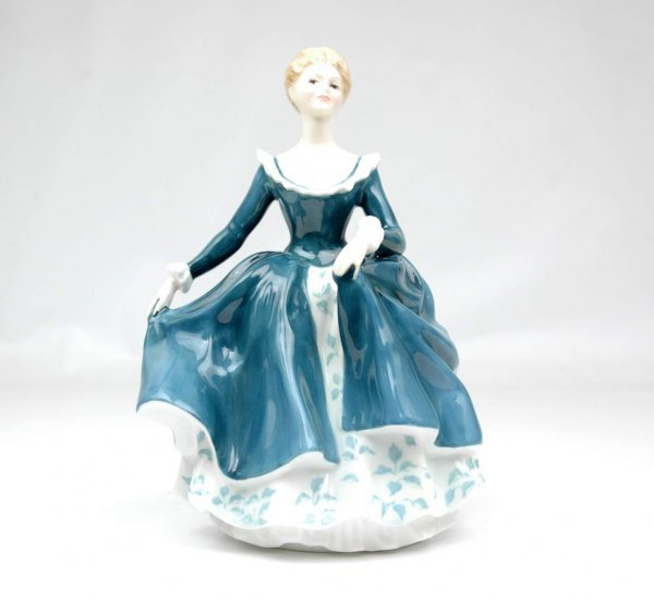 "1: Royal Doulton figurine ""Janine"", HN 2461, 8"" high, m"