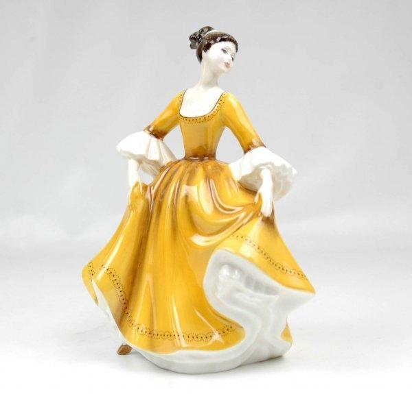 """2: Royal Doulton figurine """"Stephanie"""", HN 2807, 8"""" high"""