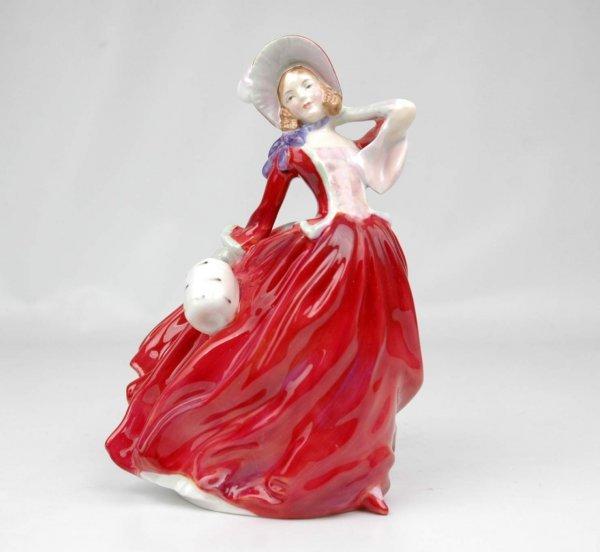"3: Royal Doulton figurine ""Autumn Breezes"", HN 1934, 8"""
