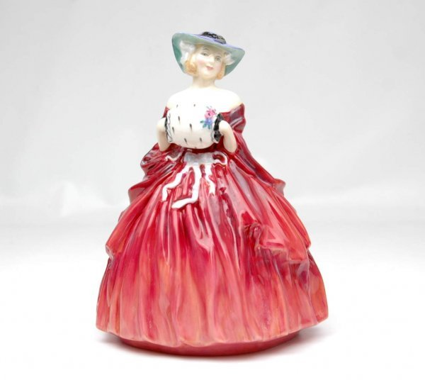 "4: Royal Doulton figurine ""Genevieve"", HN 1962,  7 1/2"""