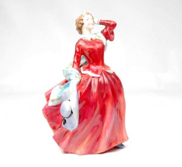 "8: Royal Doulton figurine ""Blithe Morning"", HN 2065, 7"