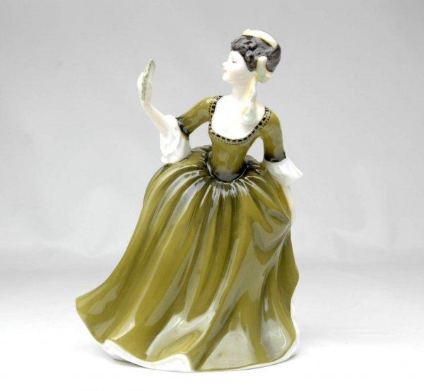 "10: Royal Doulton figurine ""Simone"", HN 2378, 7 1/2"" hi"