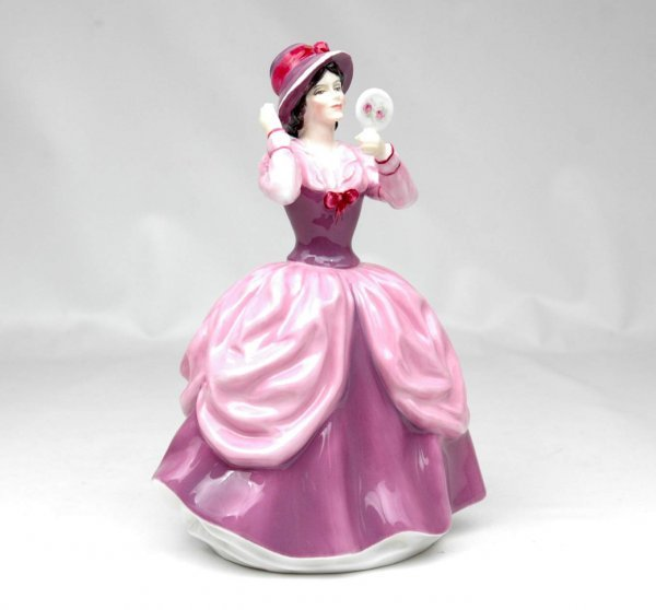"11: Royal Doulton figurine ""Lady Pamela"", HN 2718, 8"" h"