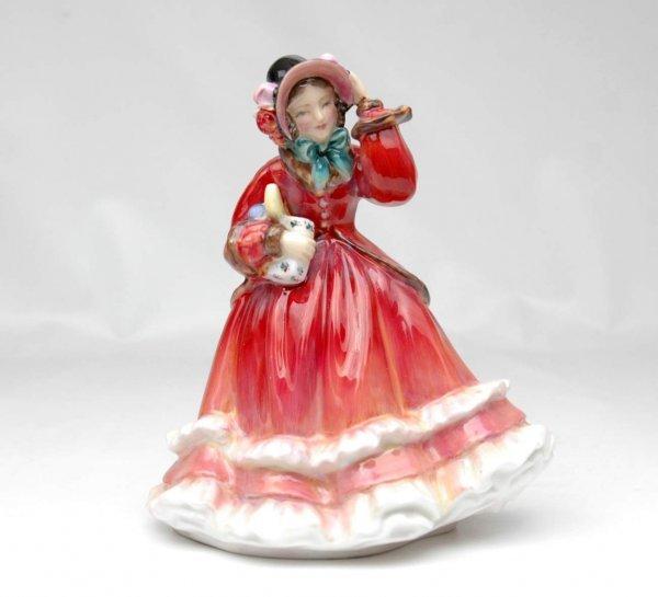 """13: Royal Doulton figurine """"Christmas Time"""", HN 2110, 7"""