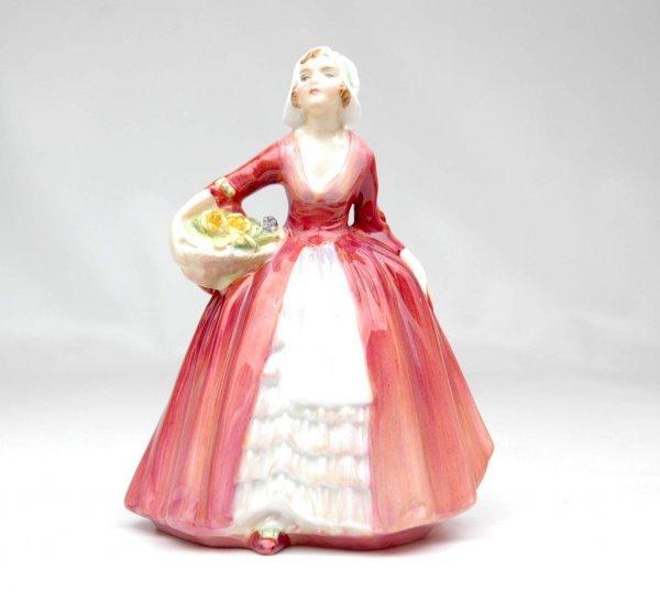 """15: Royal Doulton figurine """"Janet"""", HN 1537, 6 1/2"""" hig"""