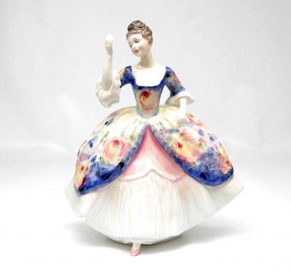 "24: Royal Doulton figurine ""Christine"", HN 2792,  8"" hi"