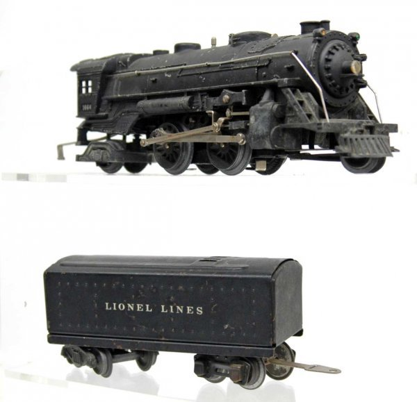 2: Lionel 1664 engine and tender
