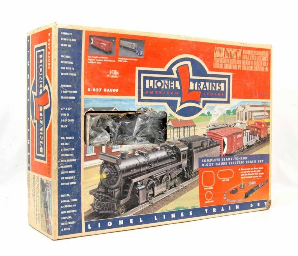 3: Lionel 0-027 gauge train set 6-11944, includes X1110