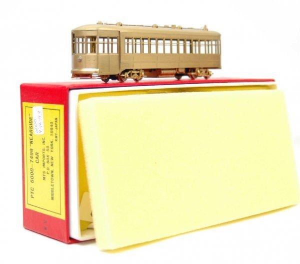 "8: Brass PTC 6000 - 7499 ""Nearside"" car, made in Japan,"