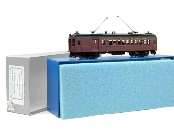 17: PRR - Reading Seashore Combine powered, HO scale, m