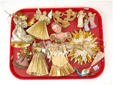 255: Twelve early 20th C. Christmas ornaments including