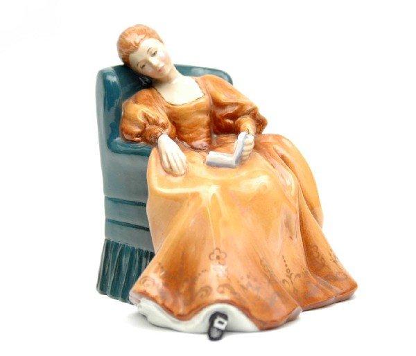 "6: Royal Doulton figurine ""Romance"" H.N. 2430, marked o"