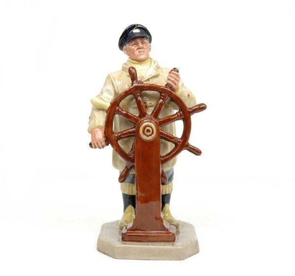 "7: Royal Doulton figurine ""The Helmsman"", H.N. 2499, ma"