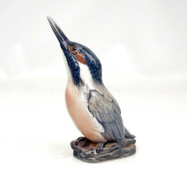 "11: Dahl Jensen figurine ""Kingfisher"", 1049, marked on"