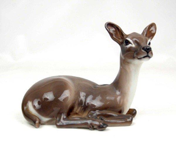 "12: Dahl Jensen figurine ""Laying Deer"" doe, 1147, marke"