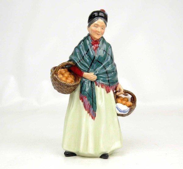 "14: Royal Doulton figurine ""The Orange Lady"", marked on"