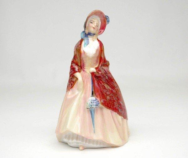 """22: Royal Doulton figurine """"Paisley Shawl"""", H.N. 1988,"""