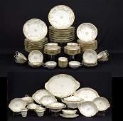 103 Set of Theodore Haviland Limoges France dinnerware