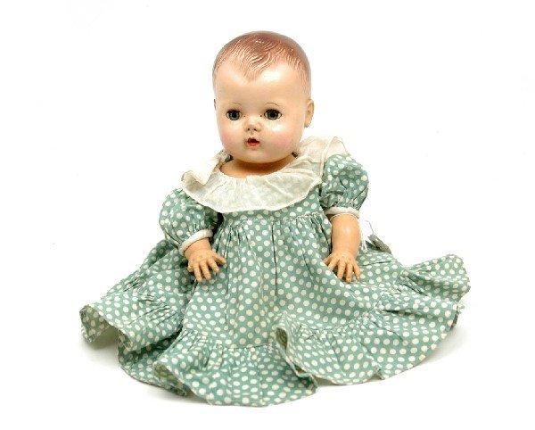 603: American Character Tiny Tears doll, hard plastic h