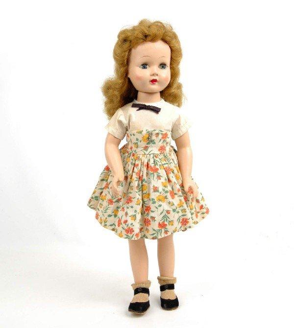 622: Effanbee Honey Walker doll, all original, blonde h