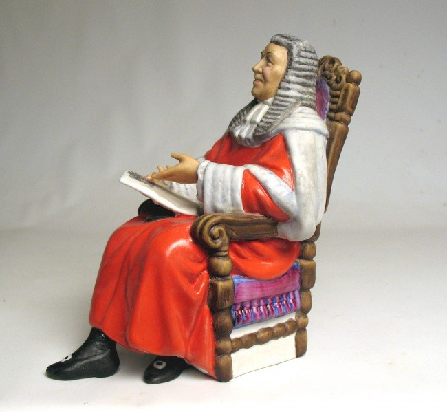 """2: Royal Doulton figurine """"The Judge"""" H.N. 2443, marked"""