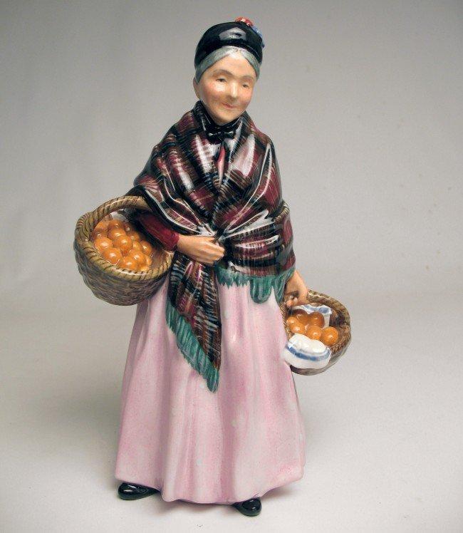 "3: Royal Doulton figurine ""The Orange Lady"" H.N. 1759,"