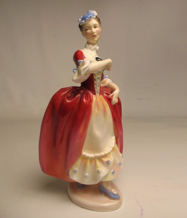 "8: Royal Doulton figurine ""Masquerade"" H.N. 2259, marke"