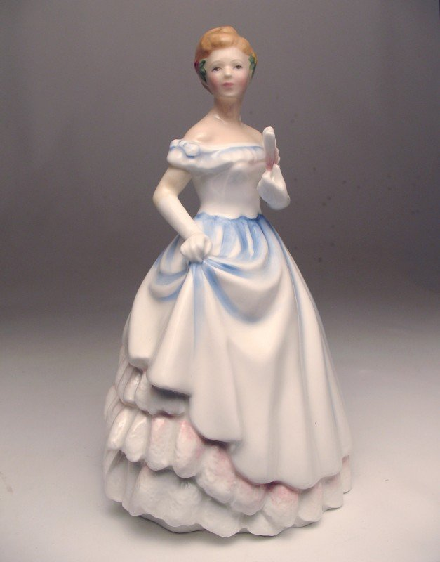 """10: Royal Doulton figurine """"Claire"""" H.N. 3646, marked o"""