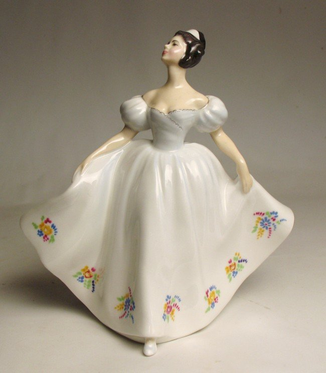 """13: Royal Doulton figurine """"Kate"""" H.N. 2789, marked on"""