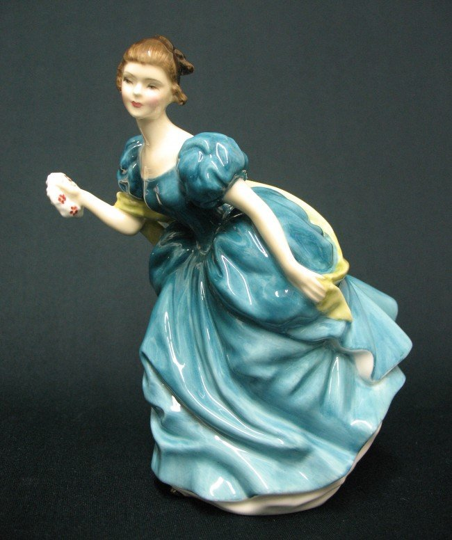 "15: Royal Doulton figurine ""Rhapsody"" H.N. 2267, marked"