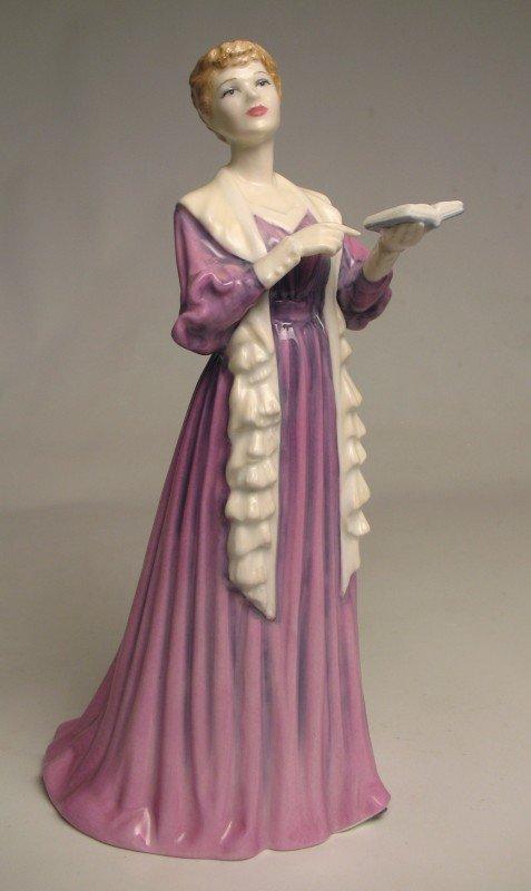 "17: Royal Doulton figurine ""The Recital"" H.N. 4466, mar"
