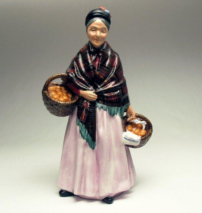 "18: Royal Doulton figurine ""The Orange Lady"" H.N. 1759,"