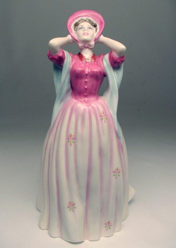 "21: Royal Doulton figurine ""Gentle Breeze"" H.N. 4317, m"