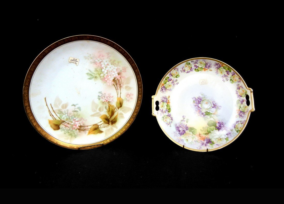 20: Two cabinet plates, R.S. Germany and Imperial Austr
