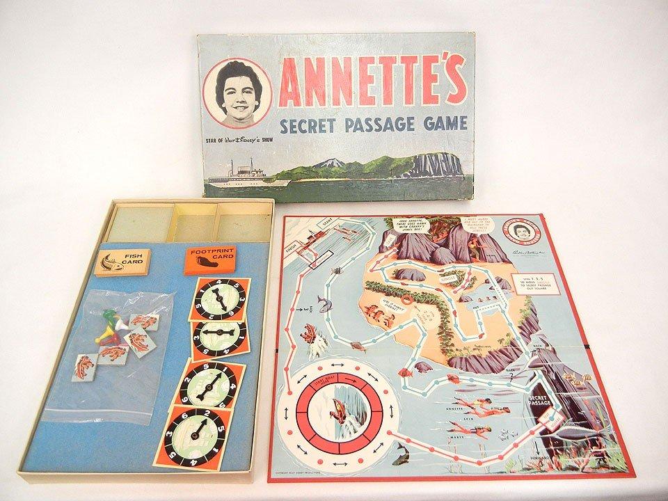 605: Parker Brothers Annette's Secret Passage Game, C.