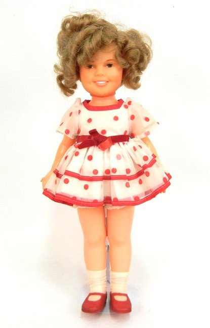 "615: 1970's Shirley Temple Ideal doll, 16"", vinyl head,"