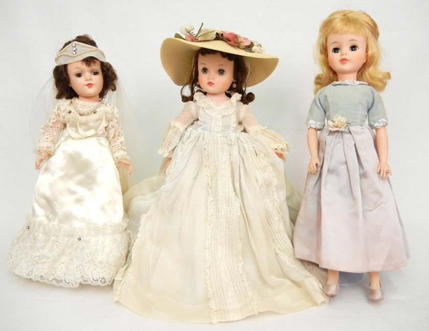 "7: Lot of three dolls, including Madame Alexander ""Scar"