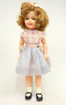 7B: 1957 Ideal Shirley Temple doll, all original,
