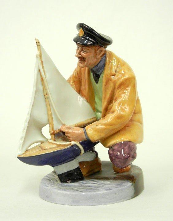 """1: Royal Doulton """"Sailor's Holiday"""" HN 2442, 6"""""""