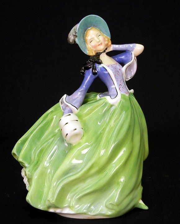 "16: Royal Doulton figurine, ""Autumn Breezes"" RD No. 835"