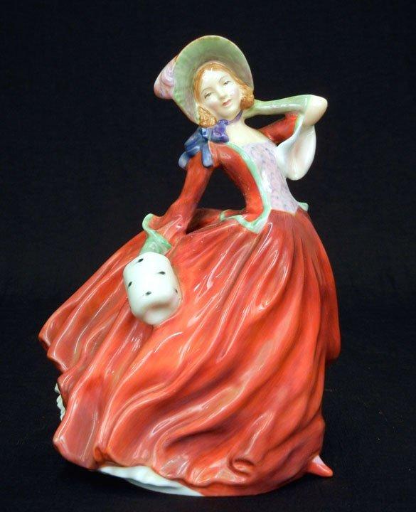 "17: Royal Doulton figurine, ""Autumn Breezes""  HN 1934,"