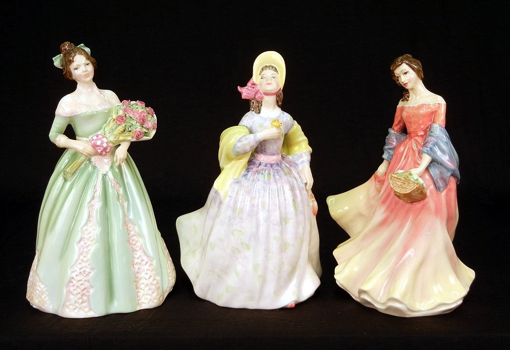 "20: Three Royal Doulton figurines, ""Summer Scent""  HN 3"
