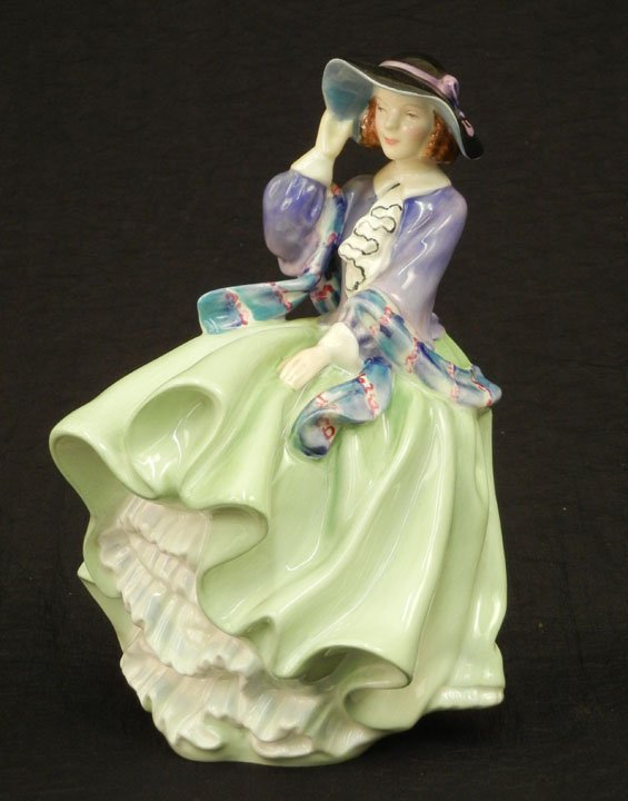 "25: Royal Doulton figurine ""Top O' the Hill"" HN 1833, 7"