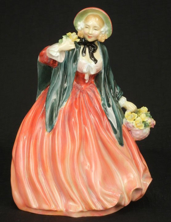 "58: Royal Doulton figurine ""Lady Charmain"" HN 1949, 8"","