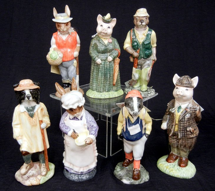 "60: Beswick figurines ""English Country Folk"" collection"